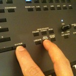 record a combi with Korg Kronos