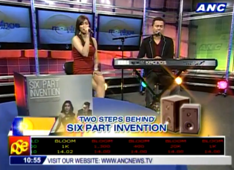 Six Part Invention performs 'Two Steps Behind' performed on Korg Kronos