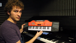 Matt Griffo - Korg Kronos vs Techno-Beat Electronic Keyboard - Kronoshaven.com