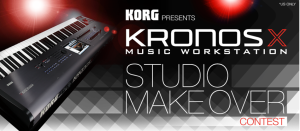 korg kronos studio makeover competition