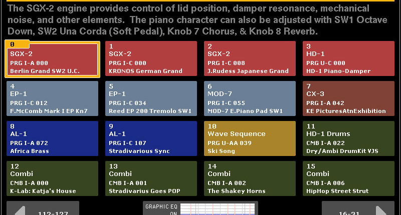 Kronoshaven - Page 3 of 10 - The Korg Kronos website