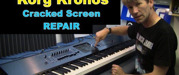 Korg Kronos repair / fix / recover videos
